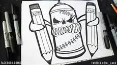 Dessin Bombe De Peinture Ii Graffiti Dwzaxx