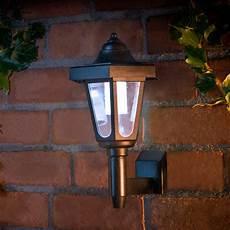 outdoor coach style wall light solar powered external wall light ebay