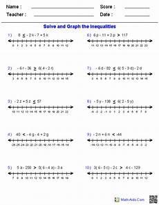algebra worksheets inequalities 8439 17 best images of pre algebra worksheets free printable math worksheets pre algebra pre