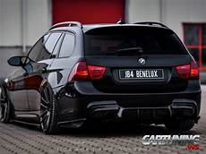 bmw e91 touring tuning tuning bmw 330d touring e91 rear side