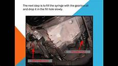 how to change the gearbox
