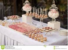 dessert table for a wedding stock photo image of