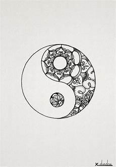 Malvorlagen Yin Yang Xyz Yin Yang Feather Tattoos Tattoos Yin Yang Tattoos