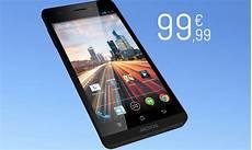 Archos Commercialise Un Smartphone 4g 224 Moins De 100 Euros