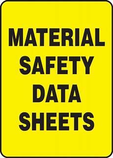 msds cover sheet material safety data sheets safety sign mchm515