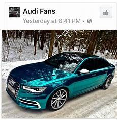 teal chrome paint job audi love it camaro muscle cars