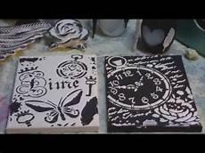 Keilrahmen Bilder Schwarz Weiß - acrylbilder in schwarz wei 223 mit schablone auf keilrahmen