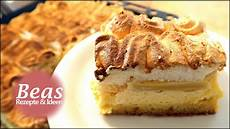 Rhabarberkuchen Rezept Mit Baiser Und Puddingcreme Vom