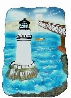 3d nautical lighthouse beach scene wall sculpture
