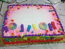 candy themed sheet cake all buttercream except candy corn and gummi worms stuff i ve made