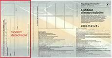 carte grise non recu comment faire coupon d 233 tachable carte grise 224 quoi 231 a sert