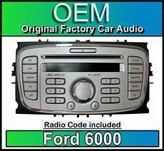 ford 6000 cd player silver ford focus car stereo headunit