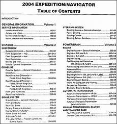 manual repair autos 2004 lincoln navigator free book repair manuals 2004 ford expedition lincoln navigator repair shop manual original set of 2
