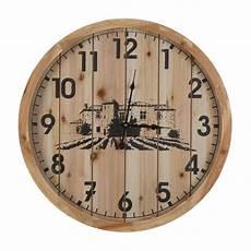home decor wall clocks yosemite home decor villa cimbrone wood planked