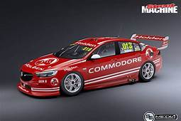 THIS IS WHAT THE 2018 HOLDEN COMMODORE RACE CAR COULD LOOK