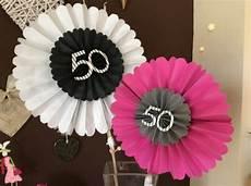 Deko 50 Geburtstag Basteln - 50iger geburtstagsdeko handmade kultur