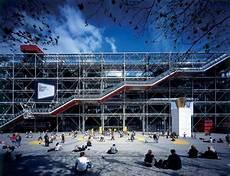 World Visits Centre Pompidou High Tech Architecture Complex