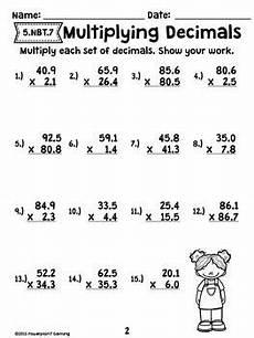 multiplication of decimals worksheets grade 5 7402 decimal unit multiplying decimals worksheets 5 nbt 7 уроки математики математика и