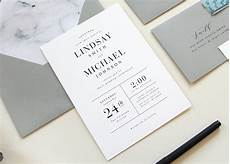 Simple Unique Wedding Invitations