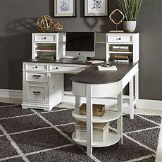 l shaped home office furniture allyson park jr executive l shaped home office set