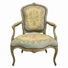single louis xv fauteuil or arm chair 1780