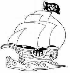 ausmalbild sommer segelschiff kostenlos ausdrucken