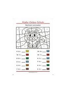 ausmalbilder rechnen grundschule malvorlagen