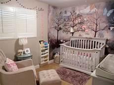 wandgestaltung babyzimmer mädchen wald kinderzimmer dekoration baby grau m 228 dchen