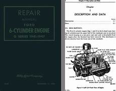 service manuals schematics 2002 ford e series engine control ford 1941 1947 repair manual ford 6 cylinder engine g series 1941 1947 ebay