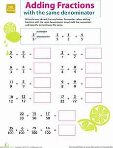 addition fraction worksheets for grade 3 9191 introducing fractions adding fractions student centered resources learning resources and