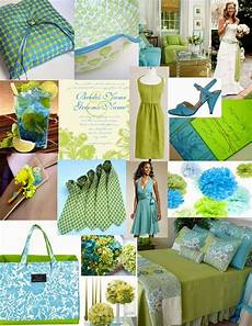 Turquoise And Lime Green Wedding Ideas