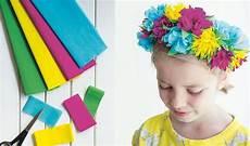 Basteln Blumenkranz Aus Papier Basteln Mit Kindern