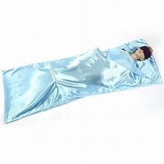 single silk liner sleeping bag hostel travel inner sheet sleep sack backpacking ebay
