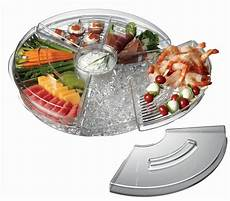 appetizers ice with lids serving tray kitchenrave