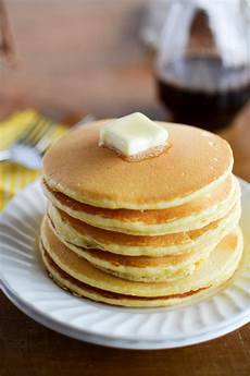 cornbread pancakes with cinnamon syrup simply whisked