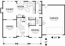 2500 sq ft ranch house plans craftsman style house plan 4 beds 2 5 baths 2500 sq ft