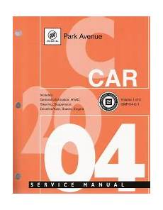 chilton car manuals free download 2004 buick park avenue transmission control 2004 buick park avenue factory service manual 2 vol set
