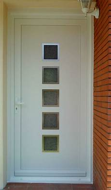 remplacement panneau porte pvc r 233 novation d une porte d entr 233 e en pvc blanc sur la