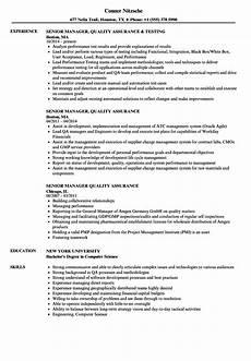 cv template for qa manager in pharma invitation template ideas