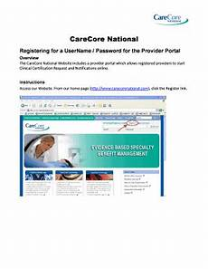 printable form for carecore national fill online printable fillable blank pdffiller