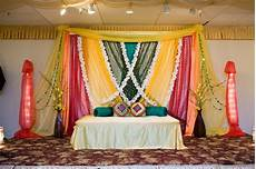 Indian Home Decor Ideas In Usa by Stage For Mehndi Indian Wedding Decor