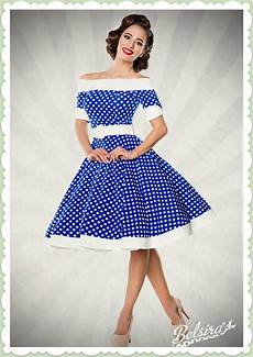 belsira 50er jahre rockabilly petticoat kleid dots