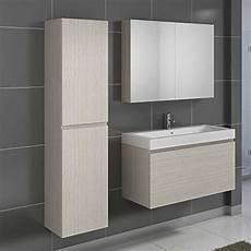 Badmöbel Set Eiche - badm 246 bel set in eiche sonoma mit waschtisch 3 teilig