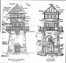 observation tower house plans stone tower wayah bald observation tower north carolina