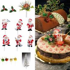 decoration buche de noel labo gato d 233 corations pour b 251 che de no 235 l ensemble 11 pi 232 ces