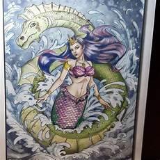 Malvorlagen Meerjungfrau Instagram Coloring Page Of The Day Light By Jade