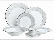 Mikasa Parchment Fine China 42 Piece Dinnerware Set