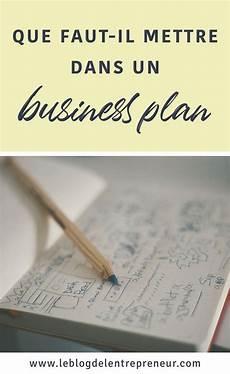 monter sa micro entreprise que faut il mettre dans un business plan en 2020 id 233 e d entreprise entreprise