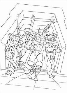 Malvorlagen Ragnarok N De 34 Ausmalbilder Thor