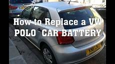 how to replace vw polo battery volkswagen polo